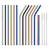 As the improvement of our life standard, more and more people are looking for a new level of drinking experience, that's why Colohas Stainless Steel Straw appeals. Forget all about plastic straws that add to pollution and treat yourself to t...