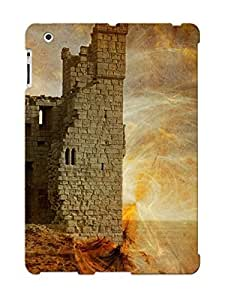 New F18a6966662 Collapsed Fortress Of Fantasy Tpu Cover Case For Ipad 2/3/4 - Best Gift Choice For Christmas