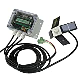 ECO LLC 12V/24V Dual Axis Solar Tracking Controller for Solar Panel Sun Tracker US Ship