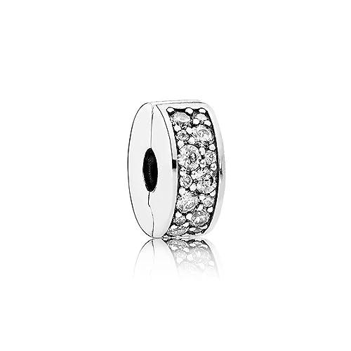 46822b6358 Pandora Bead Charm 791817CZ: Pandora: Amazon.it: Gioielli