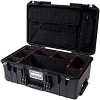 CVPKG Presents Black Pelican 1535 Air case, with TrekPak Dividers & 1535SC Computer pouch.