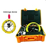 GOWE underwater inspection camera hd security camera system with 20m pushrod cable Sensor Size:1/4