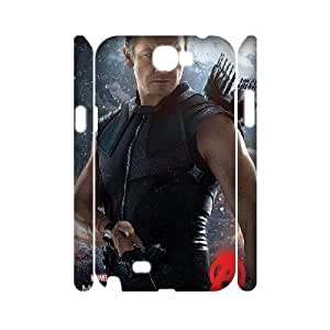 3D Tyquin Avengers Samsung Galaxy Note 2 Case Avengers Age of Ultron Cute for Girls, Samsung Galaxy Note 2 Case Luxury Cute for Girls [White]