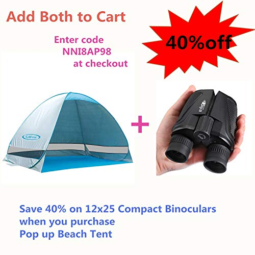 Finders | G4Free Large Pop up Beach Tent Automatic Sun
