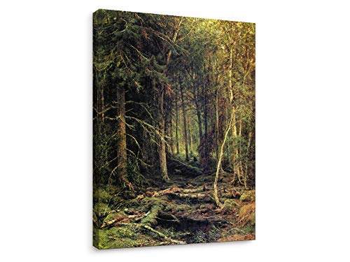 - Niwo Art-Backwoods,by Ivan Shishkin, Canvas Wall Decor, Ready to Hang