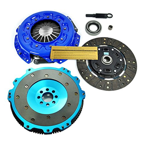 EF STAGE 2 CLUTCH KIT & ALUMINUM FLYWHEEL for JDM NISSAN SILVIA S13 S14 SR20DET
