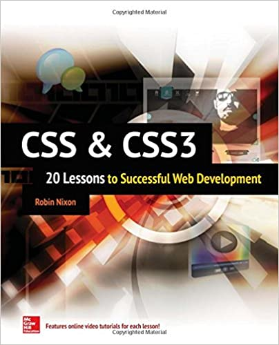 CSS & CSS3: 20 Lessons to Successful Web Development: Robin