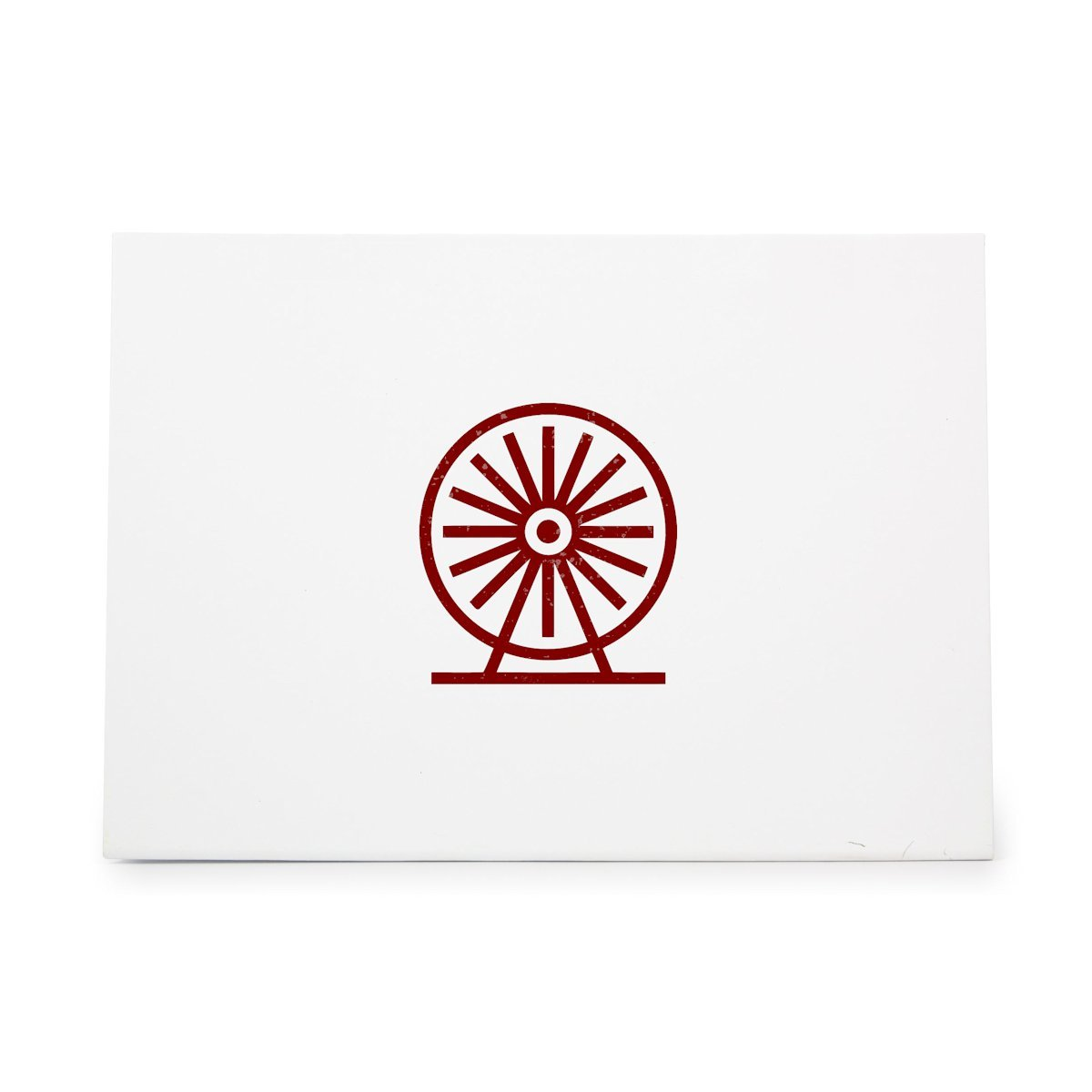 Ink Stamping Crafts Card Making Rubber Stamp Shape great for Scrapbooking Crafts Ferris Wheel Big Carnival Observation Style 9911