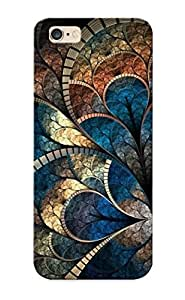 High Quality Tpu Case/ Fractal Clover Design SAxRiBm399HFECK Case Cover For Iphone 6 Plus For New Year's Day's Gift Kimberly Kurzendoerfer
