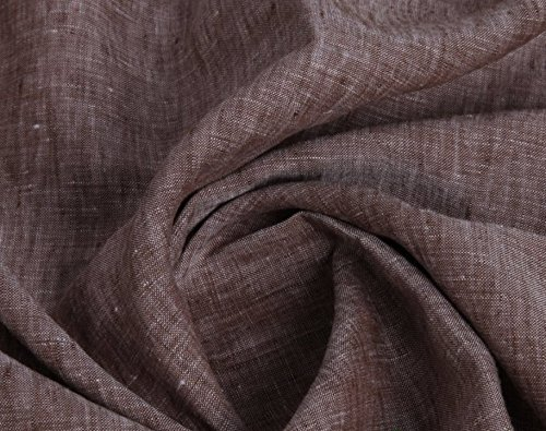 Yarn Dyed Chambray 100% Linen Fabric Multi Colors 53/54