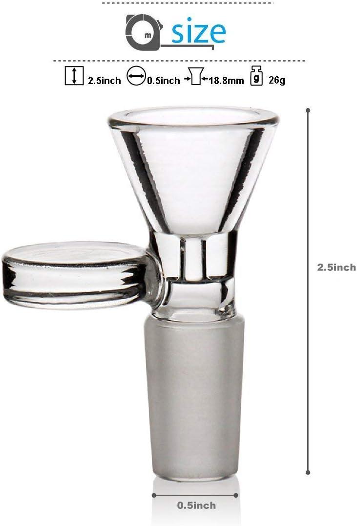LLY-Glass General Glass Herb Holder Smoking Bowl 14mm 1Piece
