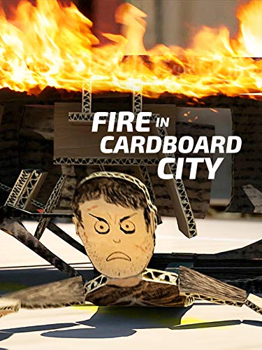 Fire in Cardboard City -