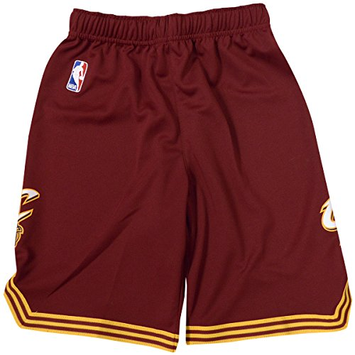 Cleveland Cavaliers Youth NBA Replica Shorts Maroon