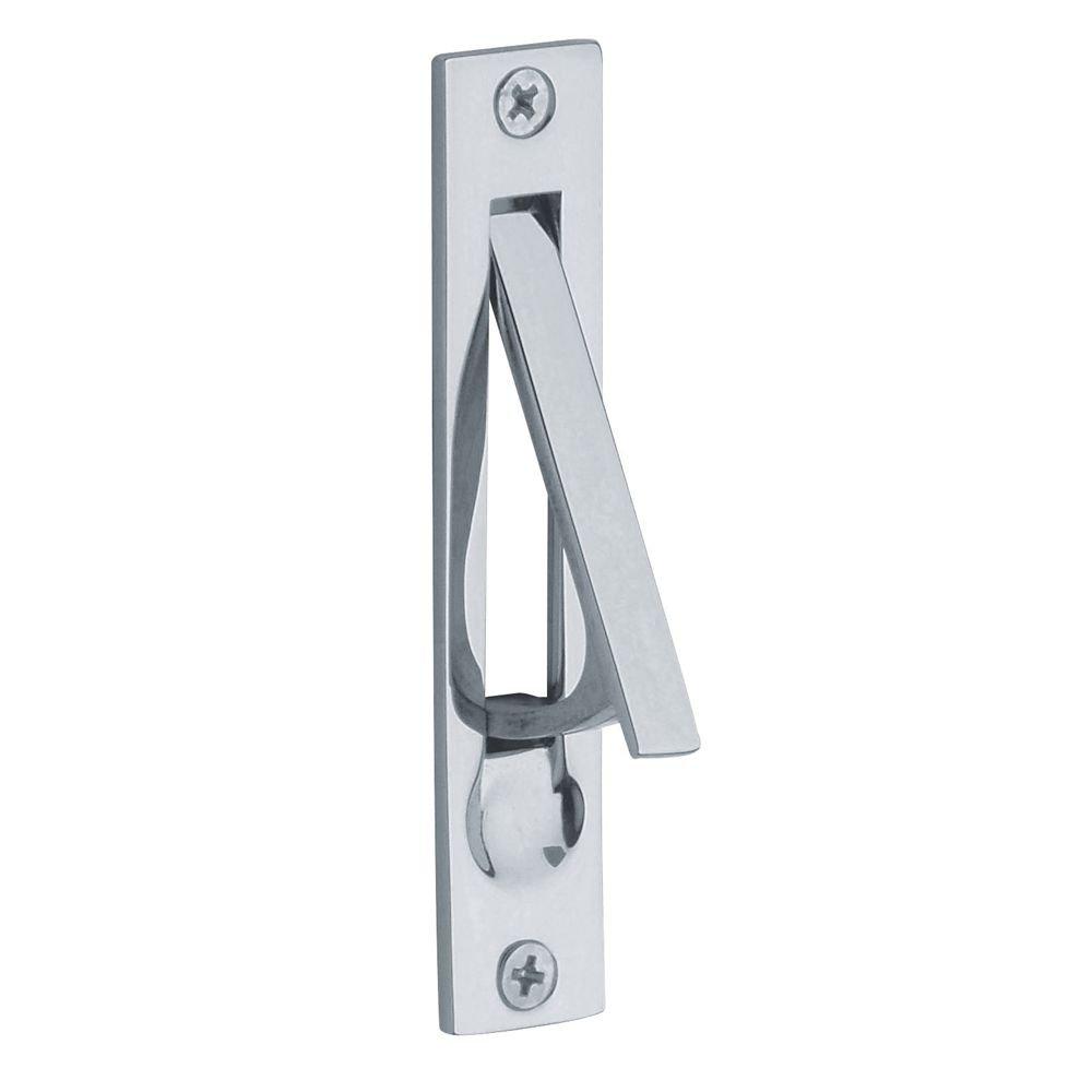 Baldwin 0465260 Edge Pull Chrome Pocket Door Hardware Amazon