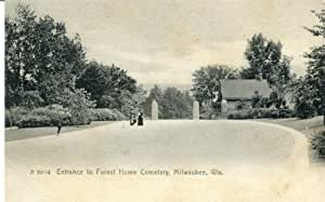 Amazon Com C1906 Entrance Forest Home Cemetery Milwaukee