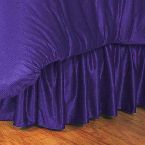 - NCAA Bed Skirt Size: Twin, NCAA Team: LSU