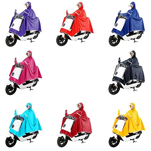 RFVBNM helmet double double women men and hat Electric rose increase motorcycle raincoat XXXL sided single cover red raincoat poncho poncho adult 7nOp7xqr