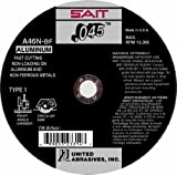 SAIT 23316 Type 1 Cutting Wheel A46N, 6-Inch by 0.045-Inch by 7/8-Inch, 50-Pack