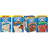 Kellogg's Pop Tarts New and Limited Edition Flavors, Variety Pack of 4