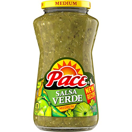 Pace Salsa Verde, Medium, 16 Ounce (Packaging May Vary) (Packaging May Vary)