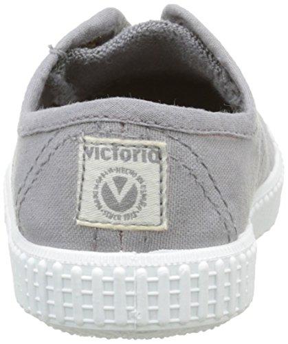 12 Tintada Gris bimbi Sneaker Lona Grigio Punt Victoria Inglesa Unisex TOwg8