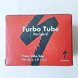 Specialized Turbo Tube Pre Talc'd: 38mm Presta Valve Tube (26 x 1.9 / 2.2)