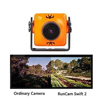RunCam Swift 2 600TVL FPV Camera Mini 2 1mm for Racing Drone