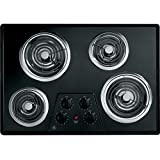 """30"""" Coil Electric Cooktop with Four Heating Elements & Upfront Controls"""
