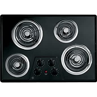 "30"" Coil Electric Cooktop with Four Heating Elements & Upfront Controls"