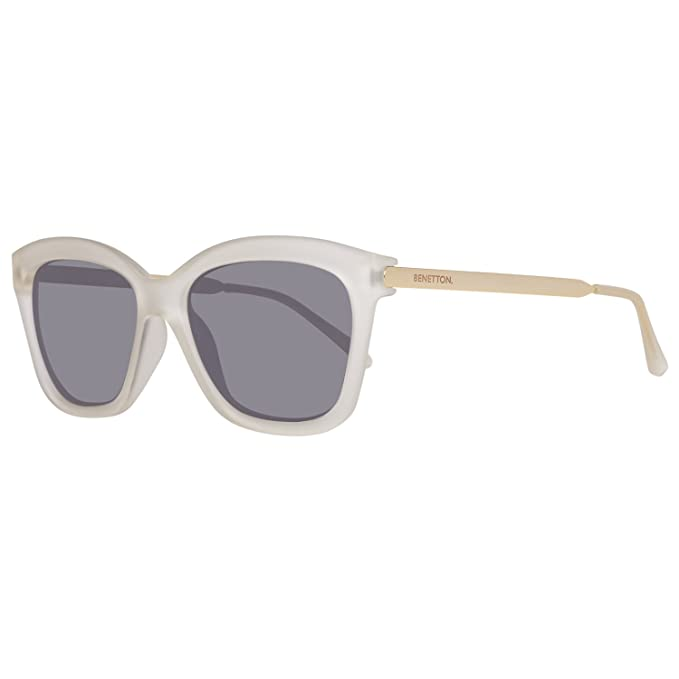 United Colors of Benetton BE988S04 Gafas de Sol, Crystl/Gold ...