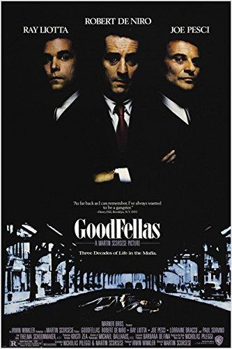 GOODFELLAS classic movie poster ITALIAN MAFIA murder corrupt