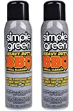SIMPLE GREEN Heavy-Duty BBQ and Grill Cleaner, 20-Ounce Aerosol Can (Pack of 2)