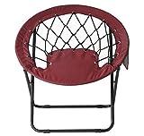@home By Nilkamal Fancy Garden Chair (Wine)