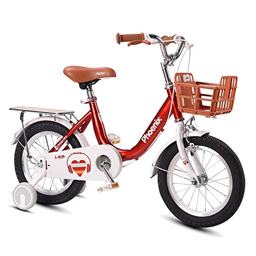 Axdwfd Kids Bike Kids Bikes, Boys And Girls Bikes, Sizes 12″, 14″, 16″, 18″, 3 Colors, With Stabilizer And Bracket Bicycle