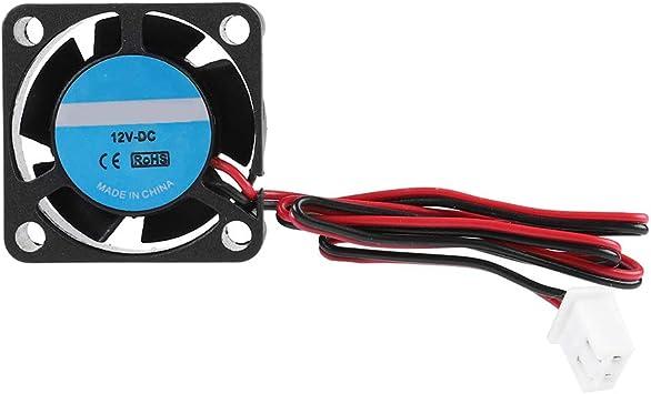 Zerone Ventilador de refrigeración de la Impresora 2510 DC 12 V ...