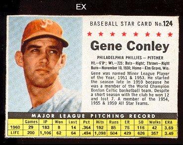 Amazoncom 1961 Post Cereal Regular Baseball Card124c