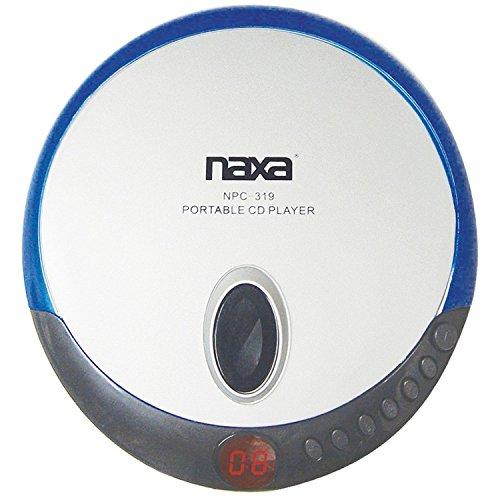 naxa-npc319blu-slim-personal-compact-disc-player-blue