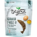 Purina Beyond Grain Free Ocean Whitefish & Egg Recipe Natural Cat Snacks 6 oz. Pouch Review