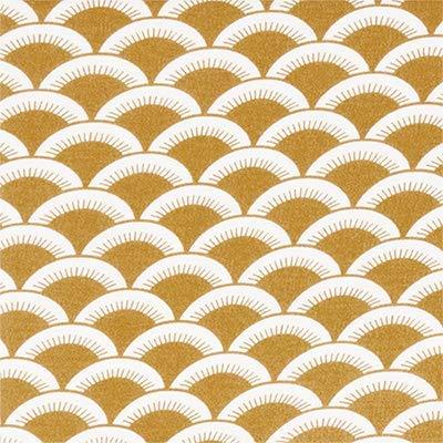 Little Dutch TE50620780 Frottee Kapuzenhandtuch Sunrise ocker gelb 75 x 75 cm