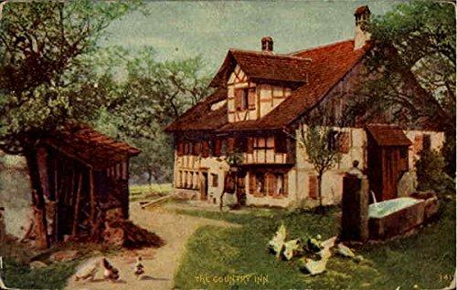 - The Country Inn Scenic Original Vintage Postcard