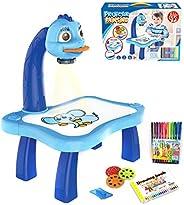 Lonsc Tábua de desenho para crianças, projetor de traços e desenho, desenho, desenho, mesa, quadro de rabiscos