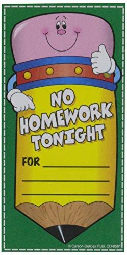 Carson Dellosa No Homework Pencil Coupon (9581)