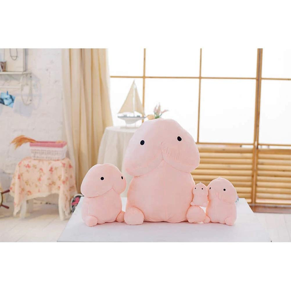 Stuffed Animals Creative Plush Penis Toy Doll Funny Soft Stuffed Plush Simulation Penis Pillow Cute Sexy Kawaii Toy Gift for Girlfriend - 30cm by LQT Ltd (Image #4)