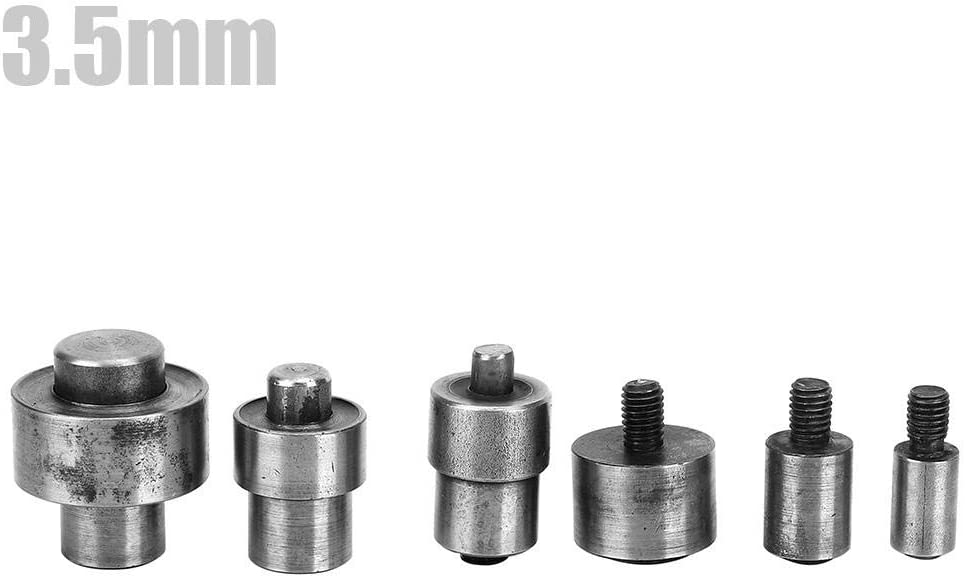6.0mm Sheens Herramienta de instalaci/ón Manual del Molde de ojeteador de presi/ón Manual de presi/ón Manual
