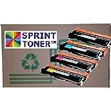 Sprint Toner ® - 4 PACK Colour CLP-365, CLT406, Compatible Toner Cartridges for Samsung CLP365W CLX3305FW CLT-K406S CLT-C406S CLT-M406S CLT-Y406S , Exclusive to Sprint Toner Cartridges - CANADIAN COMPANY