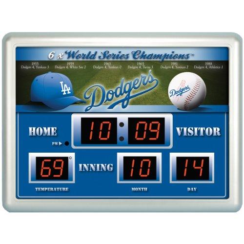 Los Angeles Dodgers Scoreboard Clock Dodgers Scoreboard