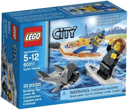 Instruction Manual Only Lego City 60011 Surfer Rescue