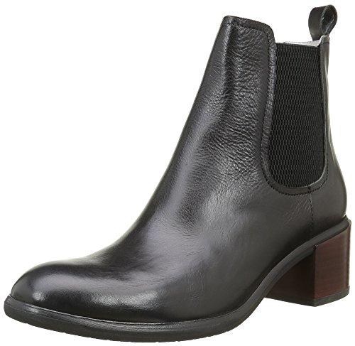 Un Matin d'Eté Amiel, Women's Boots Black (Veau Merengo Noir)
