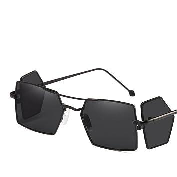 dd687bc28a Axiba Europa y los Estados Unidos la Moda Metal Cuatro Lentes Gafas de Sol  Personalidad Marea Las Personas Comunidad Regalos creativos: Amazon.es:  Deportes ...