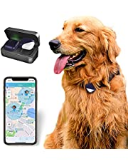 PETFON Pet GPS Tracker, Real-Time Tracking Device,No Monthly Fee, APP Control For Dogs And Pets Activity Monitor